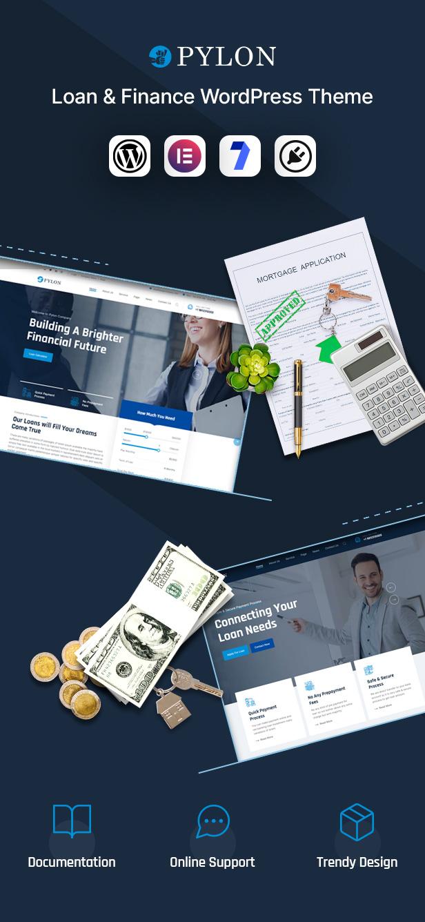 Loan WordPress Theme