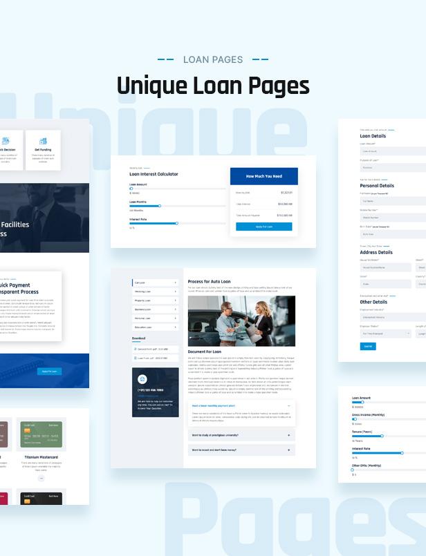 Loan Feature WordPress Theme
